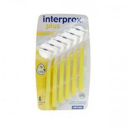 Interprox Plus 90° Mini szczoteczki międzyzębowe 6 szt. 1,1 ISO 3 Yellow (0,7 mm/3 mm)
