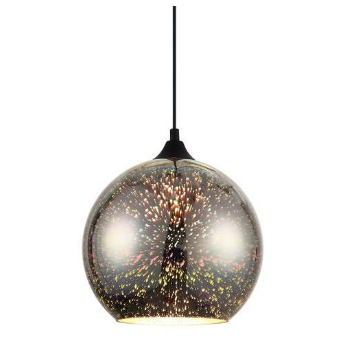 Lampy sufitowe, Lampa wisząca Andromeda 3D 1 x 40 W E27 chrom