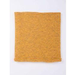 Komin zimowy żółty L-XL