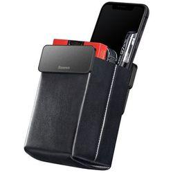Baseus mini kieszonka etui na drobiazgi do samochodu czarny (CRSBJ01-01)