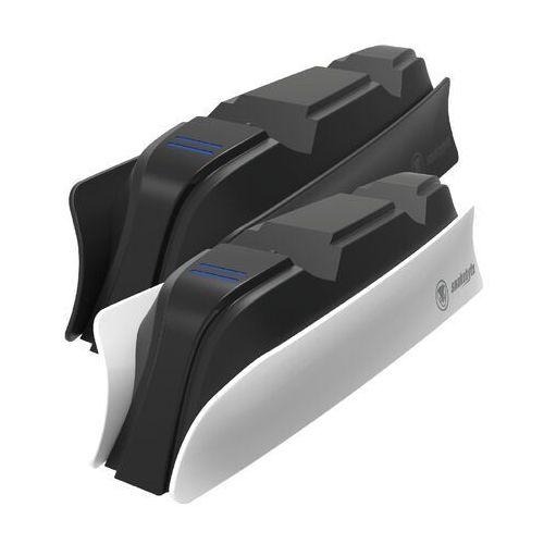 Akcesoria do PlayStation 5, Snakebyte SB916151 Podwója ładowarka do padów PS5 (czarny)