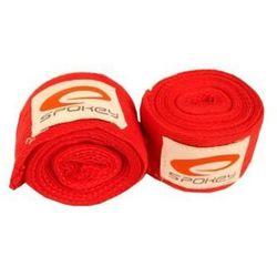 Bandaż bokserski SPOKEY 85099 (czerwony)