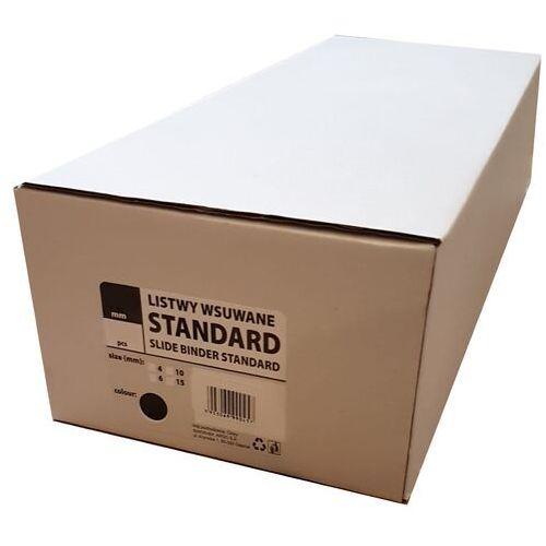 Grzbiety do bindownic, Listwy do bindowania wsuwane standard Argo, niebieskie, 9 mm, 50 sztuk, oprawa do 40 kartek - Autoryzowana dystrybucja - Szybka dostawa - Tel.(34)366-72-72 - sklep@solokolos.pl