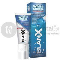 Pasty do zębów, BLANX WhiteShock pasta 50ml + LED (E731) - wybielająco-ochronna pasta do zębów aktywowana światłem z nasadką LED