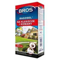 Środki i akcesoria przeciwko owadom, Bros Bagosel 250ml. Oprysk na komary, kleszcze, muchy, meszki.