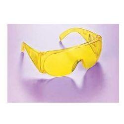 Okulary ochronne żółte, dla ochrony wzroku