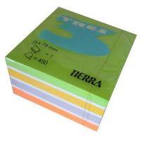 Karteczki, Karteczki samoprzylepne 75x75mm neon