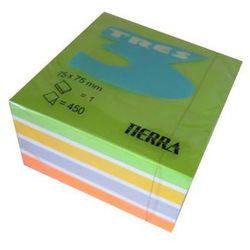 Karteczki samoprzylepne 75x75mm neon