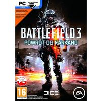 Gry na PC, Battlefield 3 Powrót do Karkand (PC)