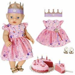 Baby born - ubranko zestaw urodzinowy 43cm