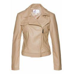 Krótka kurtka ze złotymi guzikami bonprix kobaltowy