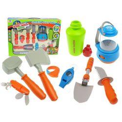 Akcesoria biwakowe dla dzieci 10 elementów 008-80E