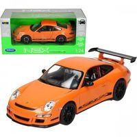 Osobowe dla dzieci, Welly Porsche 911 GT3 RS, pomarańczowe