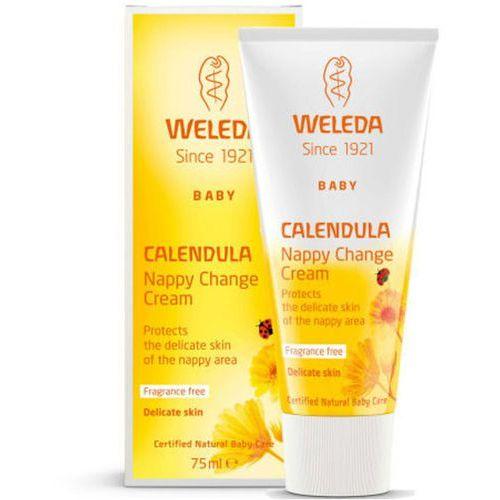 Pozostałe kosmetyki do ciała, Weleda Baby Calendula Nappy Change Cream (75ml)