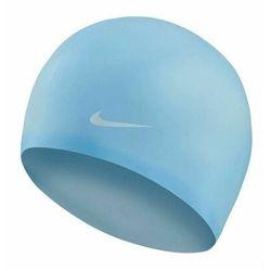 Nike Swim Solid Czepek silikonowy, psychic blue 2019 Czepki pływackie