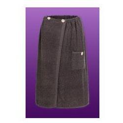 Sauna Kilt Ręcznik 100% Bawełna Uniwersalny Szary 70/140cm Guzik
