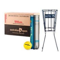 Zestaw Wilson Australian Open + Spintex Kosz 75
