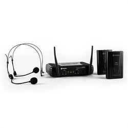 Skytec STWM712H zestaw mikrofonów bezprzewodowych VHF 2 x słuchawki Zamów ten produkt do 21.12.16 do 12:00 godziny i skorzystaj z dostawą do 24.12.2016