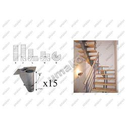Schody-segment NS270 Vmax 2860mm Vmin 2580mm