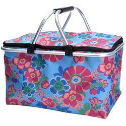 Składany koszyk - torba na zakupy, piknik