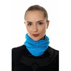 Komin Termoaktywny Unisex Wełniany Brubeck Wool KM10360 Błękitny