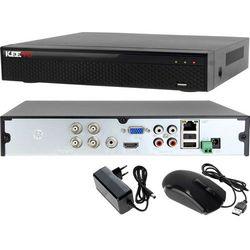 Rejestrator monitoring 4 kanałowy hybrydowy KEEYO LV-XVR44SE-II