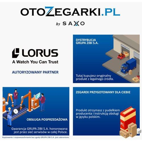 Zegarki damskie, Lorus RG222PX9