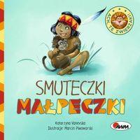 Książki dla dzieci, Ach, te zwierzaki! Smuteczki małpeczki - Praca zbiorowa