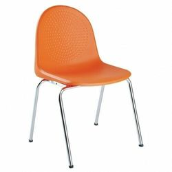 Krzesło AMIGO CLICK 4L - do poczekalni i sal konferencyjnych - z możliwością łączenia, konferencyjne, na nogach, stacjonarne