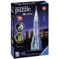 Puzzle, PUZZLE 3D 216 EL. CHRYSLER BUILDING NIGHT EDITION