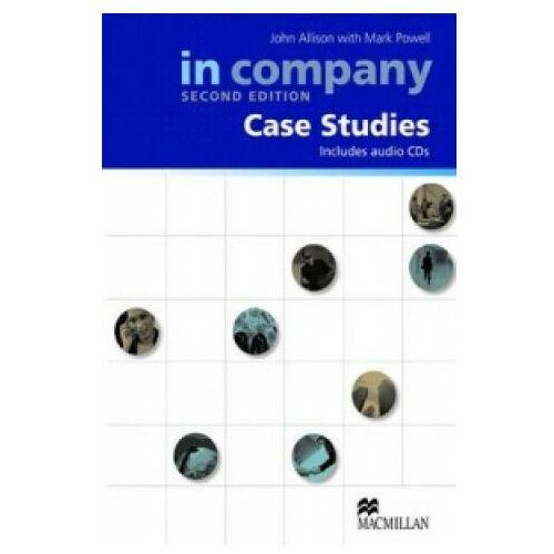Książki do nauki języka, In Company All Levels (2nd Edition) Case Studies Book with CD