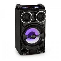 Rejestratory i odtwarzacze audio, Fenton LIVE102 Party Station 300W odtwarzacz multimedialny USB-/BT LED-RGB pilot
