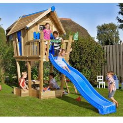 Domek Jungle Crazy Playhouse na platformie XL Jungle Gym