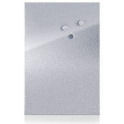 Metalowa tablica magnetyczna MEMO + 3 magnesy, 60x40 cm, ZELLER