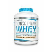 Odżywki białkowe, BioTech 100% Pure Whey 2270g Bourbon Wanilia