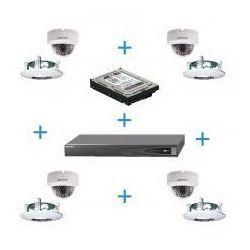 Zestaw do Monitoringu Hikvision (rejestrator + 4 kamery)