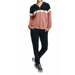 Bawełniany dres damski komplet LUNA 307 3XL Beżowy