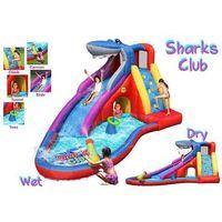 Zabawki dmuchane, Dmuchana zjeżdżalnia wodna Happy Hop - Shark