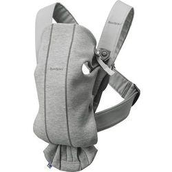 Babybjörn nosidełko MINI 3D Jersey, jasny szary