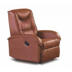 Fotel wypoczynkowy rozkładany Difter - brązowy
