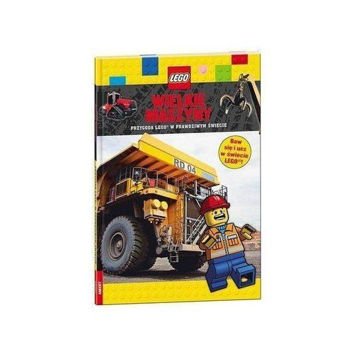 Książki dla dzieci, LEGO Wielkie maszyny /LDJM3 - Praca zbiorowa (opr. twarda)