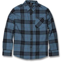 koszula VOLCOM - Caden Plaid L/S Blue Rinse (RNE) rozmiar: L