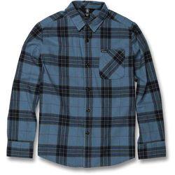 koszula VOLCOM - Caden Plaid L/S Blue Rinse (RNE) rozmiar: M