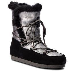 Śniegowce MOON BOOT - Far Side High Shear 24200700003 Argento/Nero