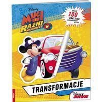 Książki dla dzieci, Miki i Raźni Rajdowcy Transformacje