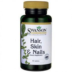 Włosy Skóra Paznokcie Hair Skin Nails 60 tabletek SWANSON