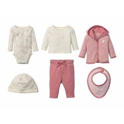 LUPILU® Zestaw niemowlęcy dla dziewczynki, 6-czę