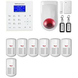 Alarm gsm + WiFi E8 R7 + syrena bezprzewodowa 120 dB - Alarm bezprzewodowy EXPANDA R7 + syrena bezprzewodowa 120 dB Alarm gsm + WiFi E8 R7 + syrena bezprzewodowa 120 (-8%)