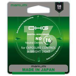 Filtr Marumi DHG ND16 58mm (MND(16)58 DHG) Darmowy odbiór w 21 miastach!