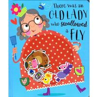 Książki dla dzieci, There Was an Old Lady Who Swallowed a Fly 2018